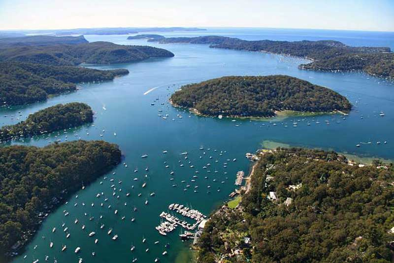 pittwater hawkesbury river property for sale