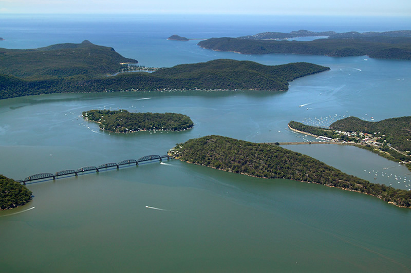 pittwater hawkesbury river luxury property for sale