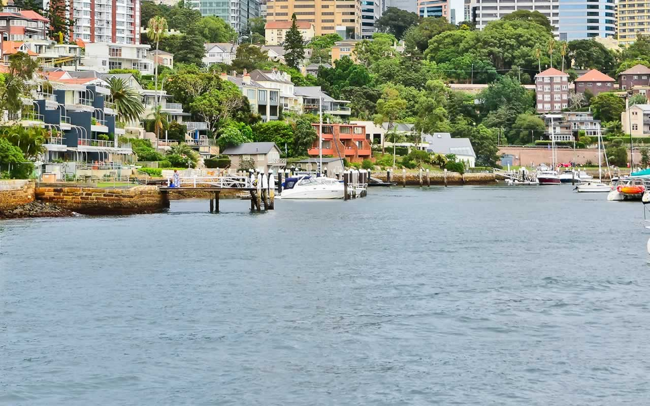 sydney harbour residential property for sale